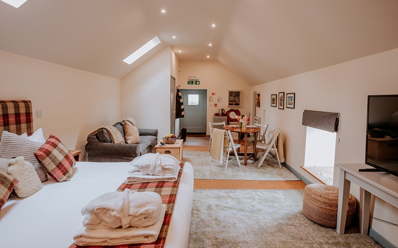 the loft family accommodation for 6