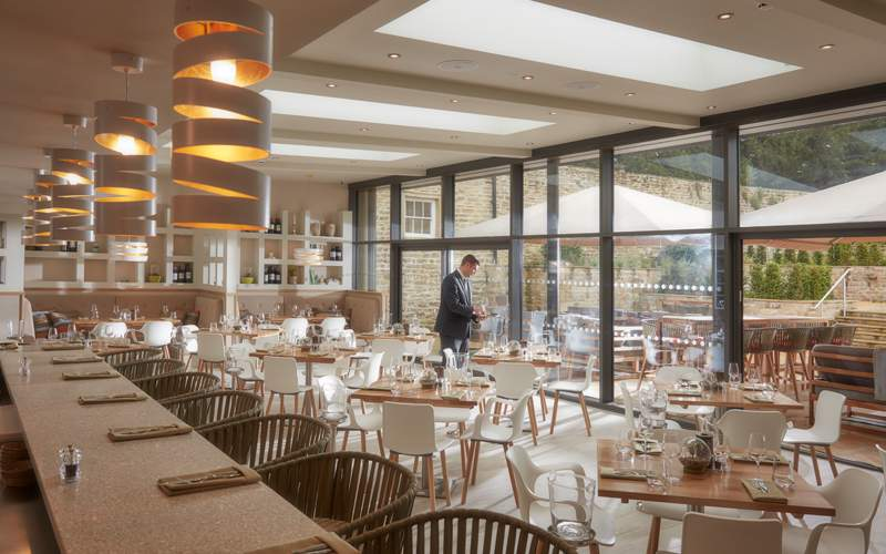 the terrace restaurant and bar informal european inspired dining estate to plate