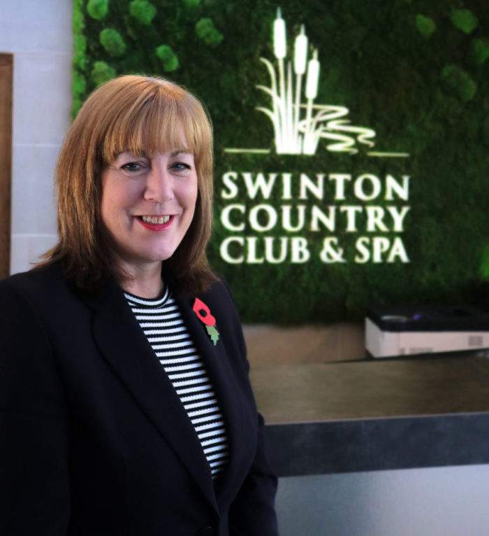 Gillian McGraffin Spa Manager at swinton country club and spa