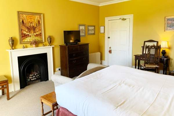 Swinton park Hotel earls bedroom Beverley