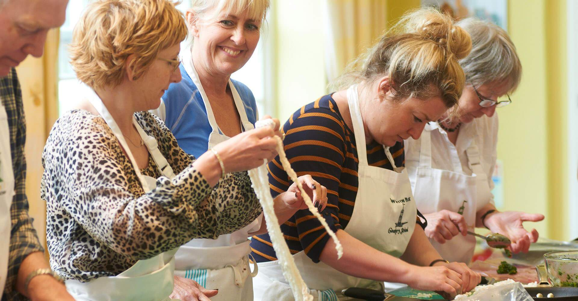 Attend Cookery School courses